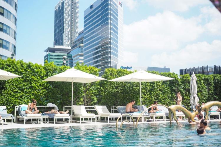 W hotel Bangkok Pool