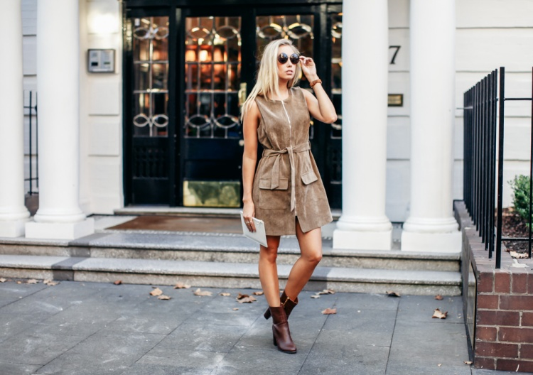 Brown Boohoo Dress Jo Hombsch