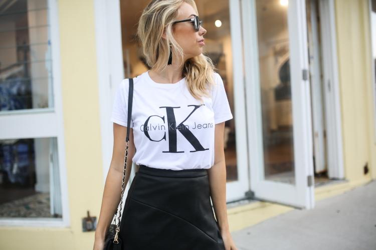 Calvin Klein Logo Tee Jo Hombsch