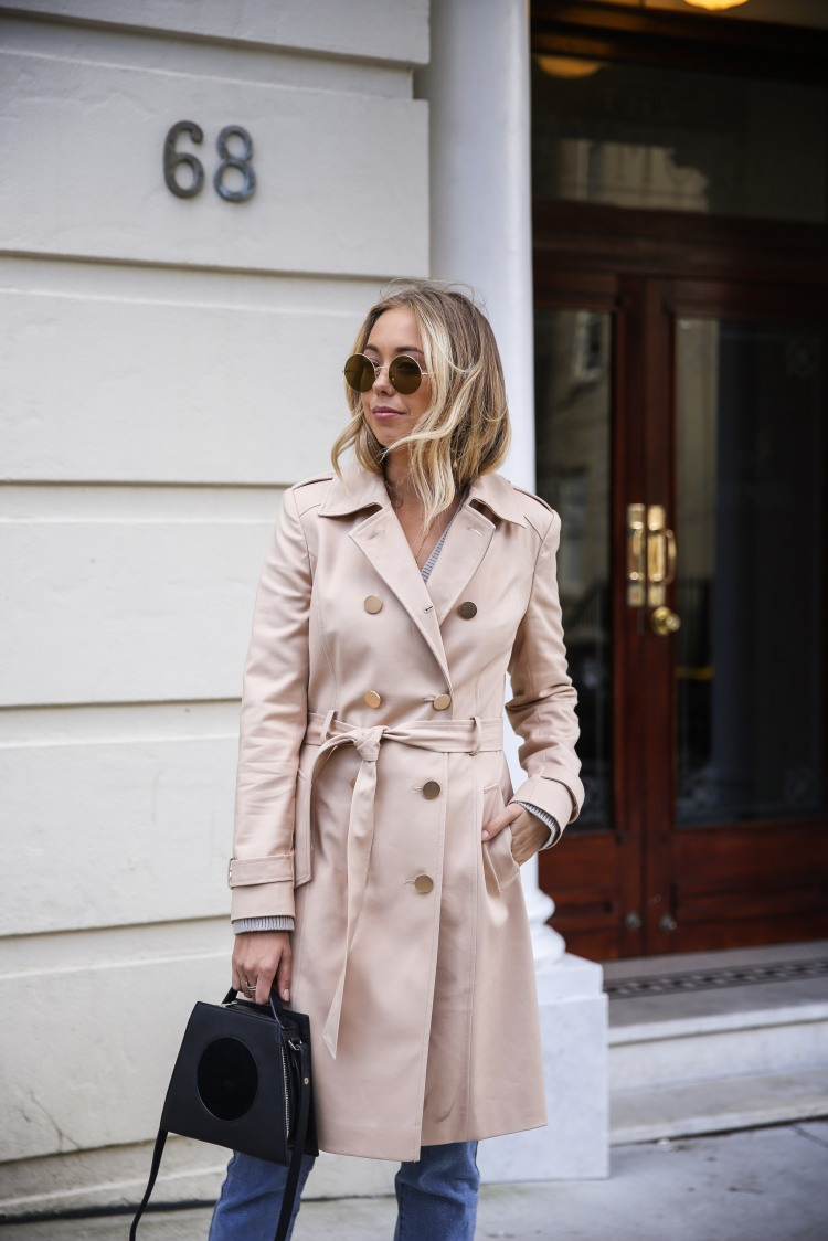 Beige Trench Coat Portmans