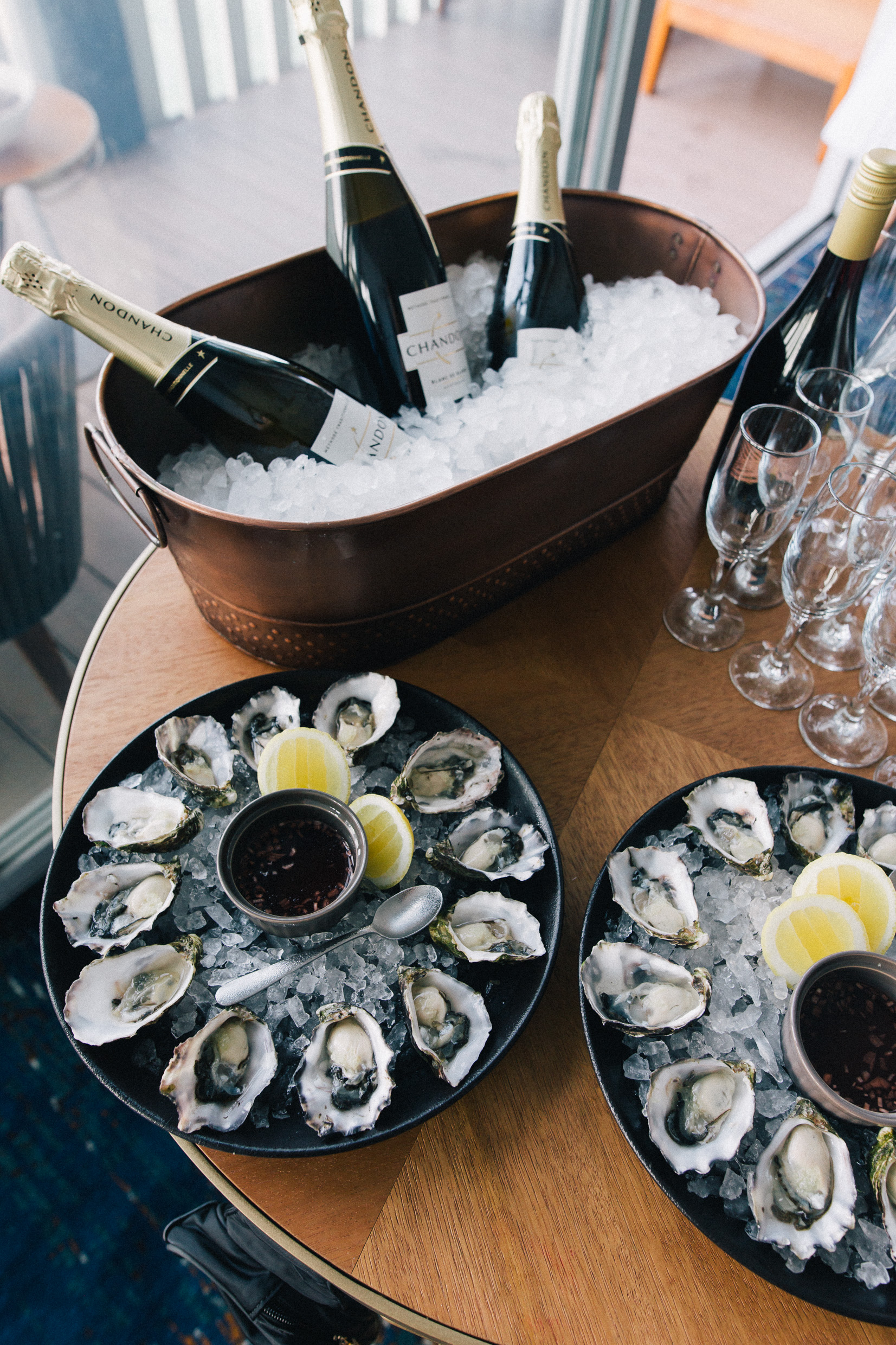 Pier One Hotel Admiral Suite Sydney Harbour Bridge Champagne Oysters