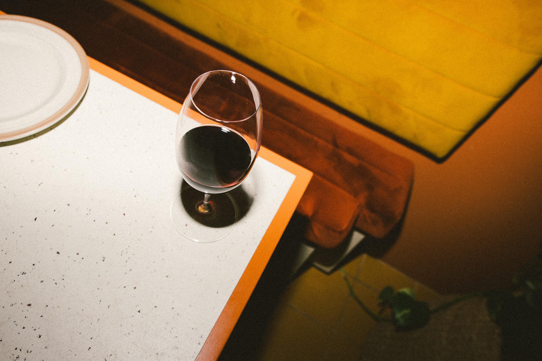 Chica Bonita Sydney drinks wine